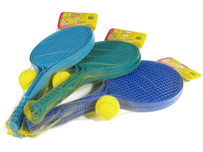 soft tenis barvený + 1 míček