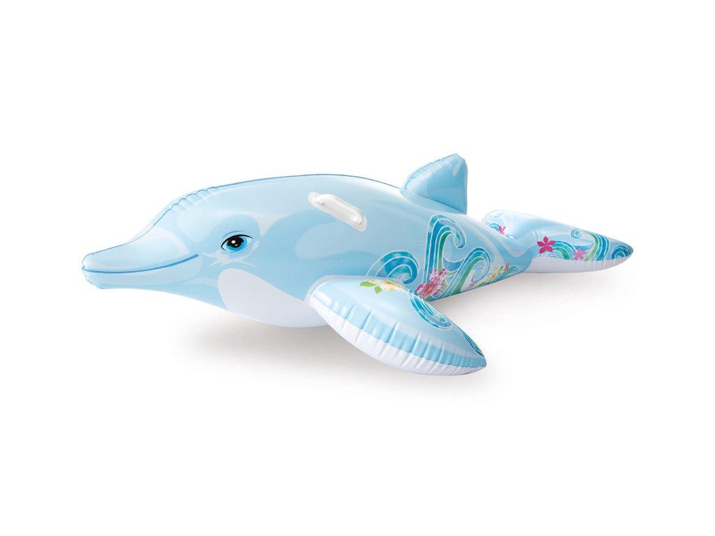 Nafukovací hopsadlo delfín 175 x 66 cm