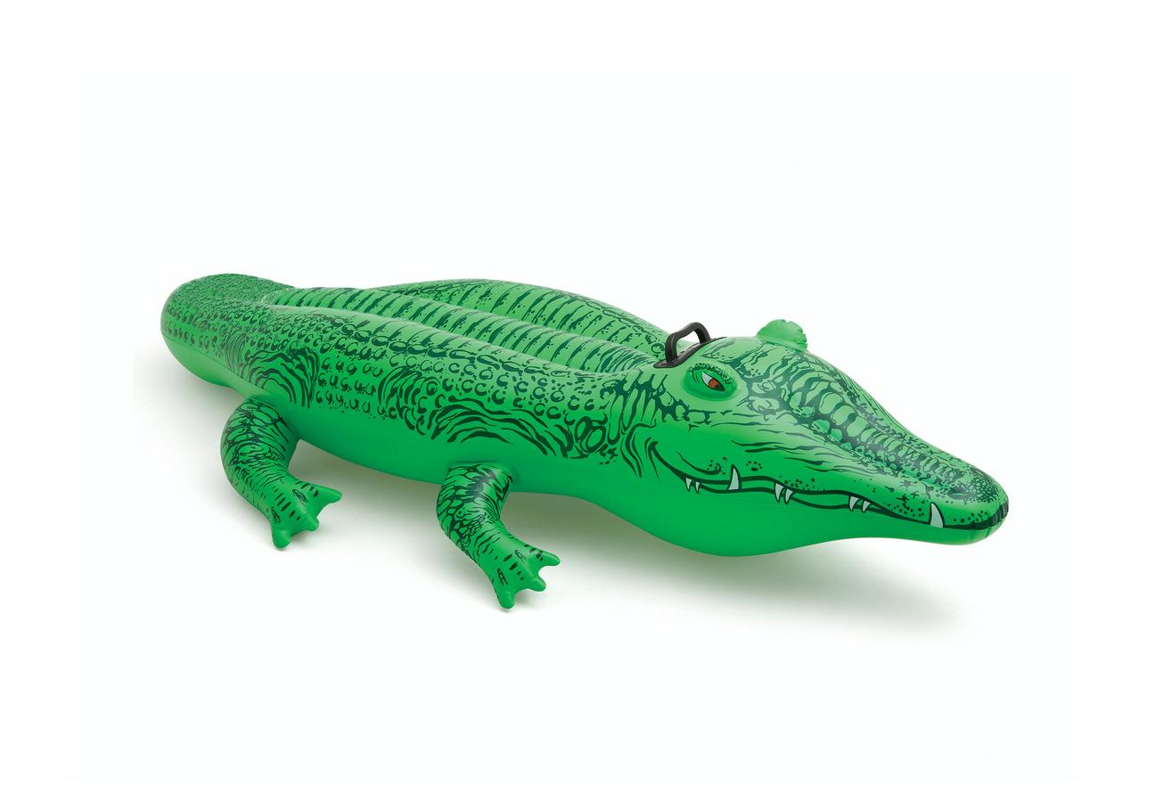 Nafukovací hopsadlo krokodýl 168 x 86 cm