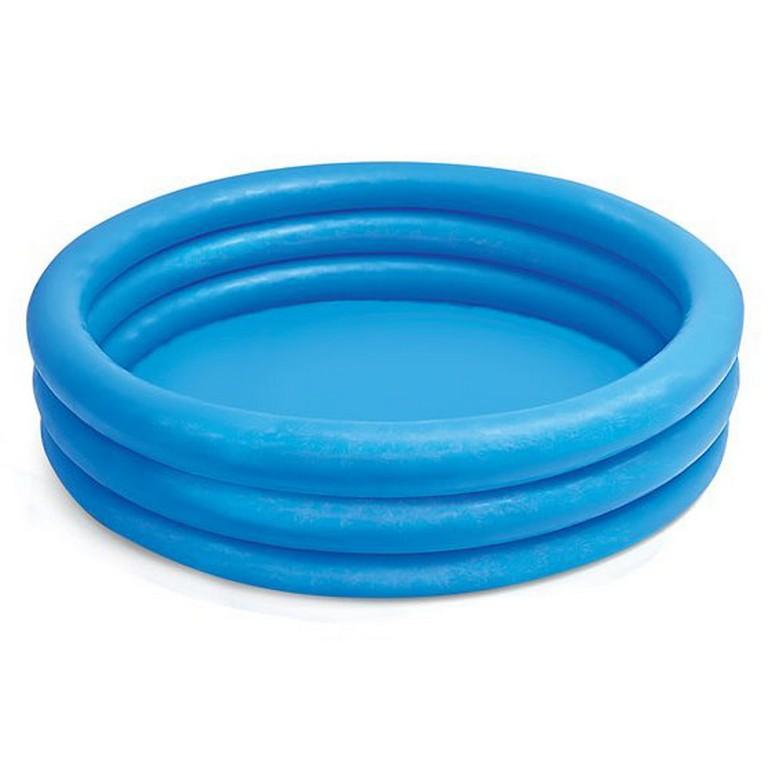 nafukovací bazén modrý, 114x25, 3 komory
