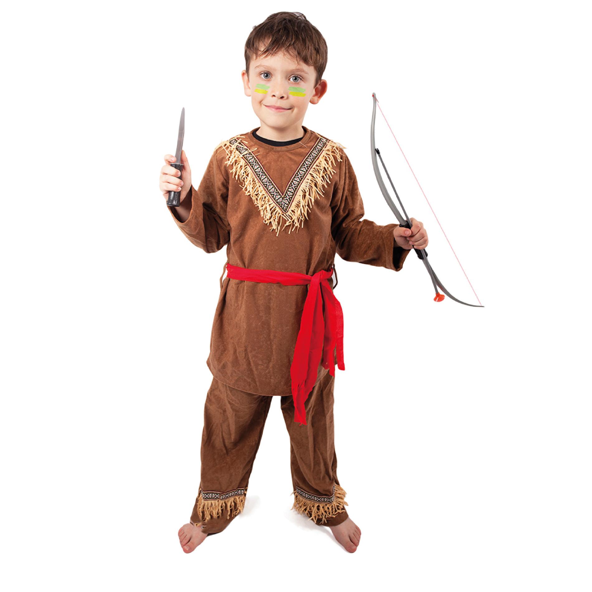 Dětský kostým indián s šátkem (M)