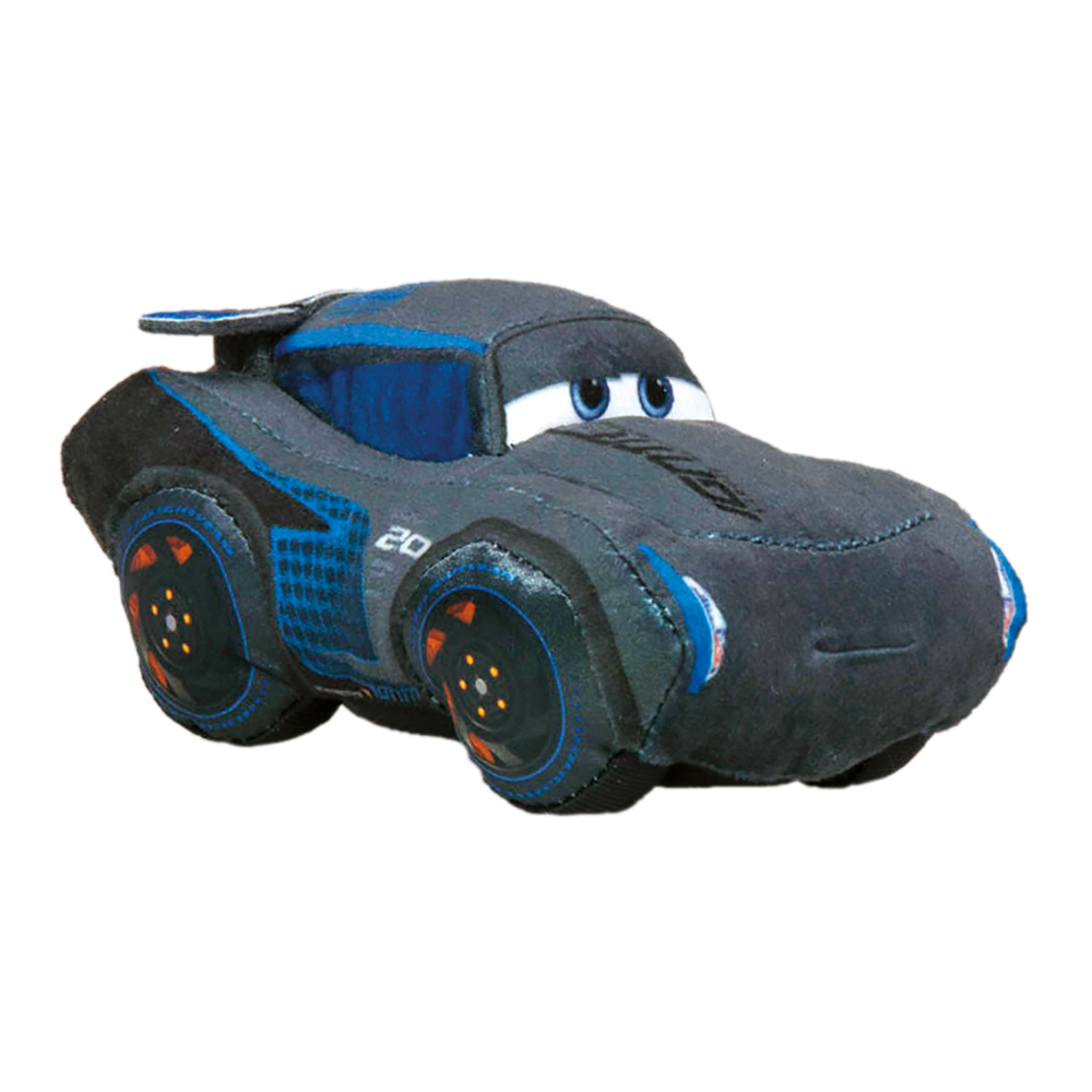 plyšové auto Cars 3 Jeckson Storm 20cm
