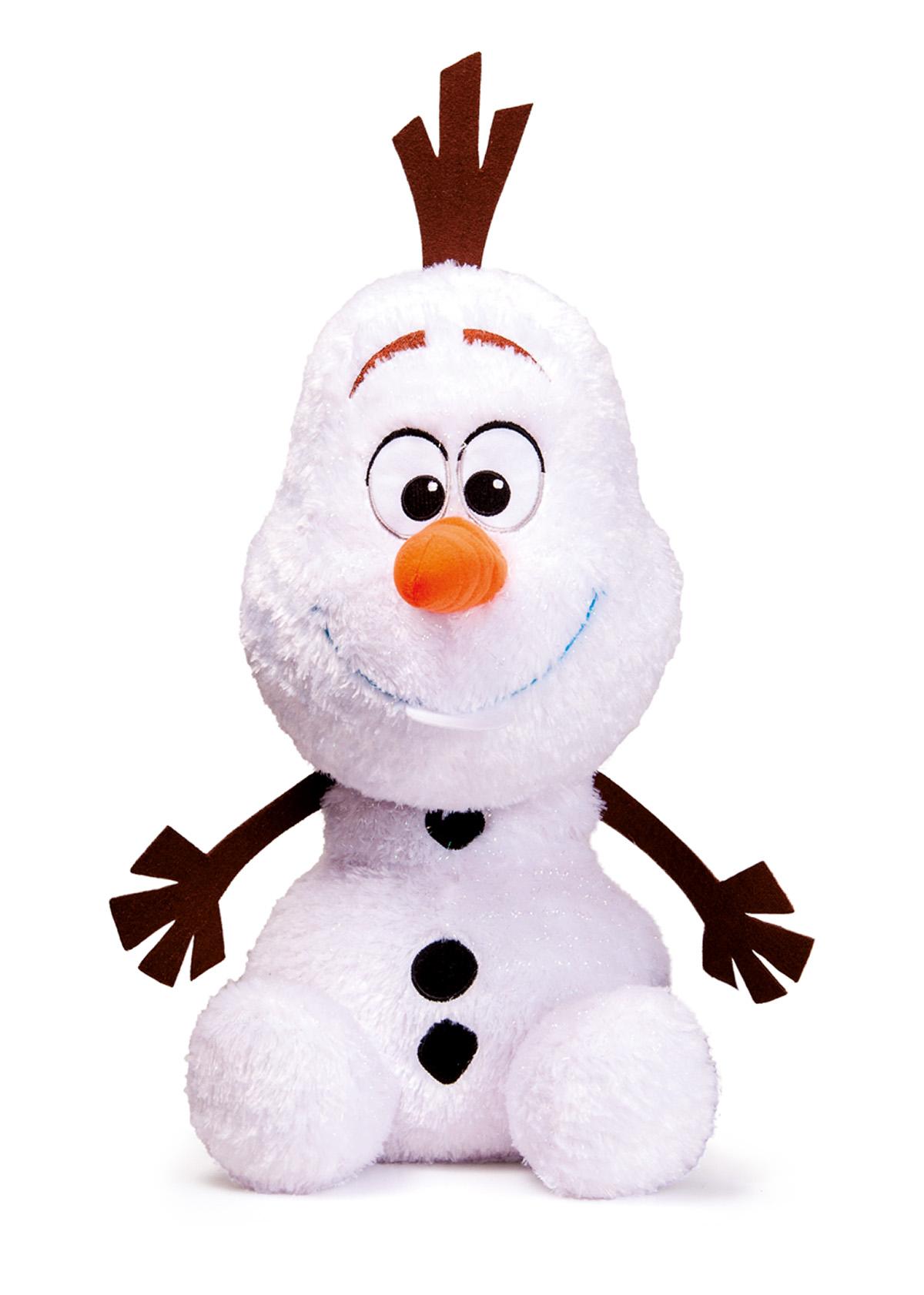 Plyšový OLAF TŘPYTIVÝ 50cm
