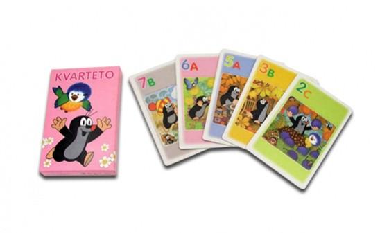 Karty Kvarteto Krtek a sýkorka