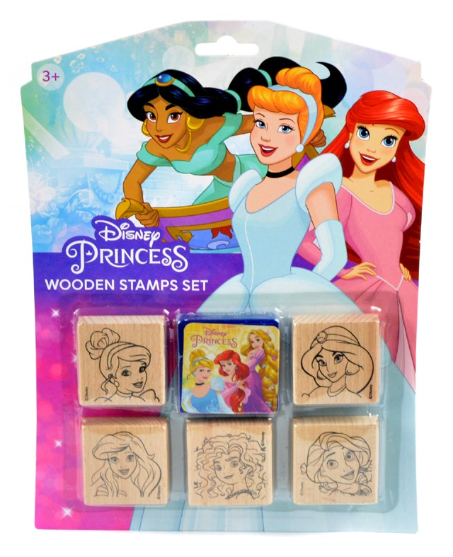 Razítka 5+1 Disney Princezny