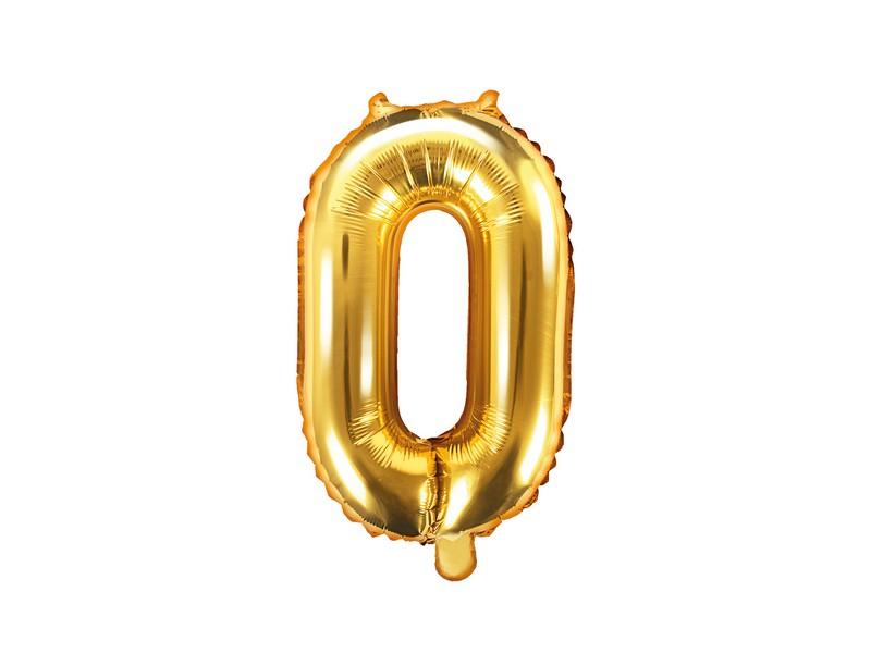 Balónek nafukovací číslo 0 (35 cm)