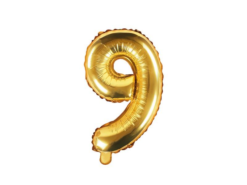 Nafukovací balónek číslo 9 (35 cm)