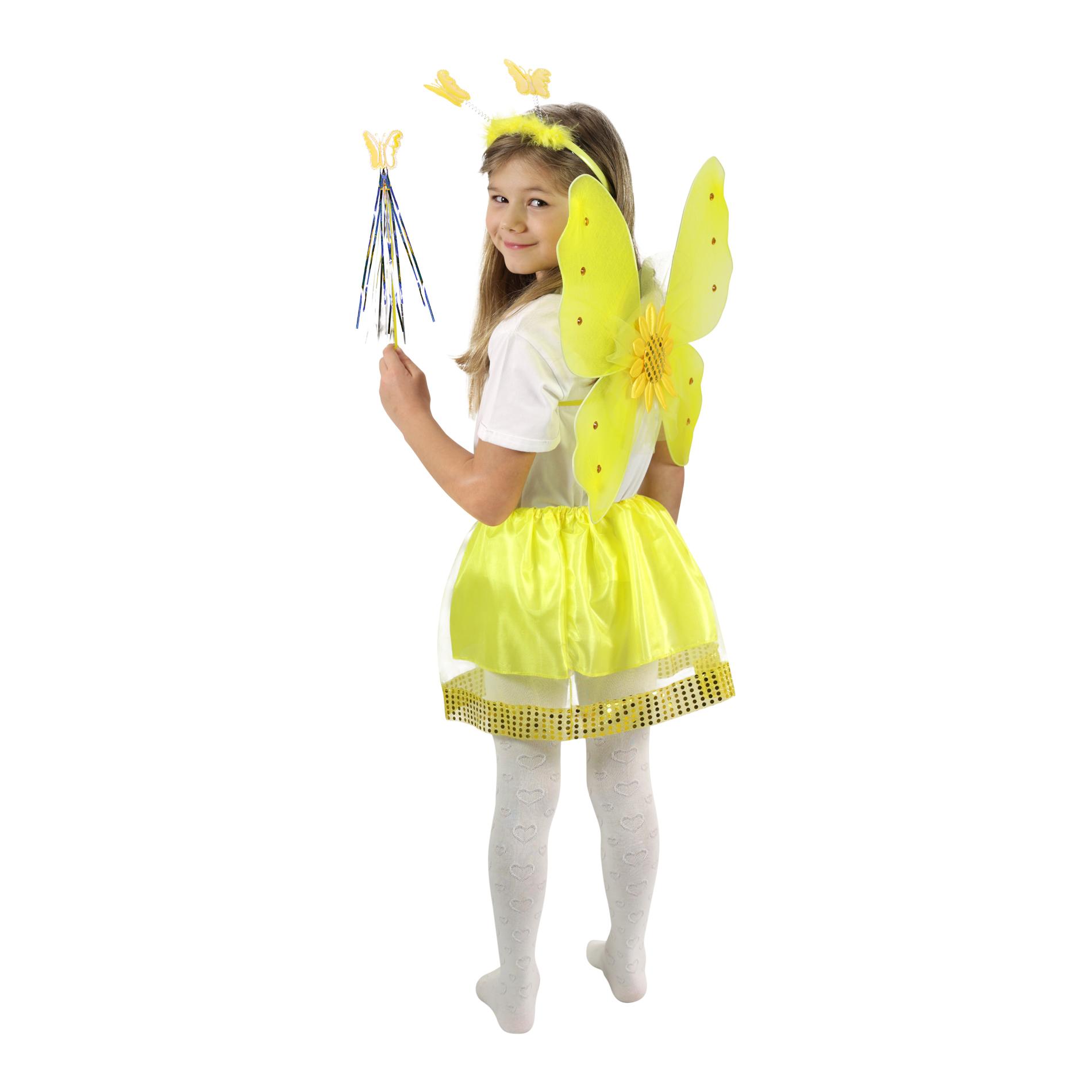 Dětský kostým Slunečnice s křídly