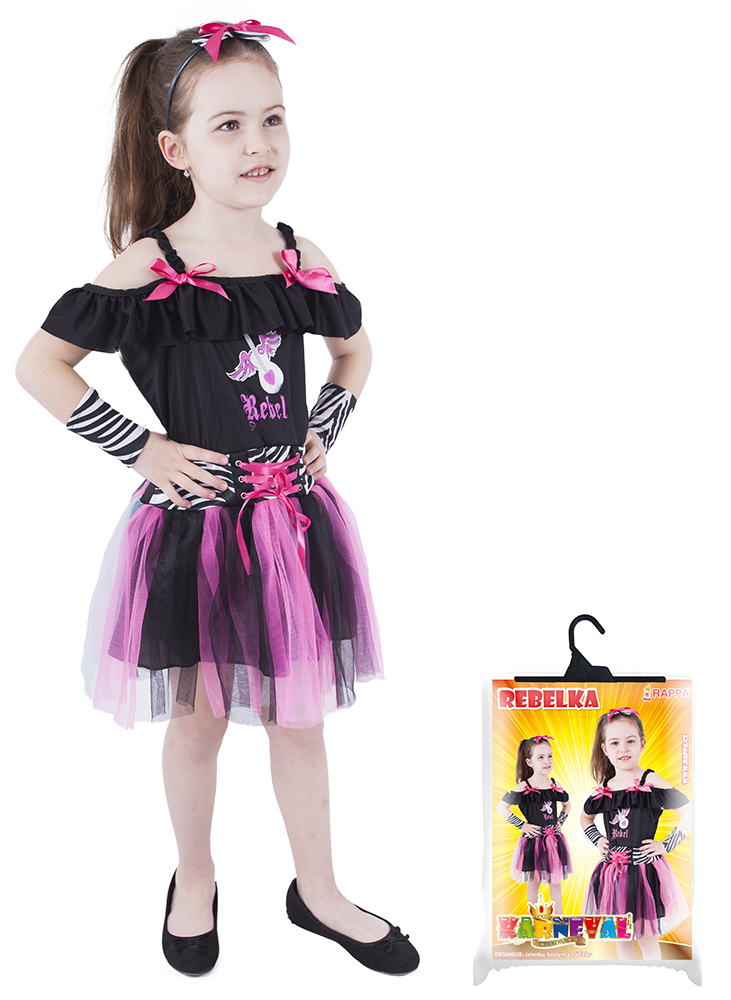 Dětský kostým rebelka (S)
