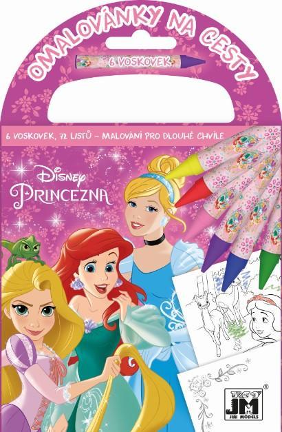 Omalovánka na cesty Disney Princezny