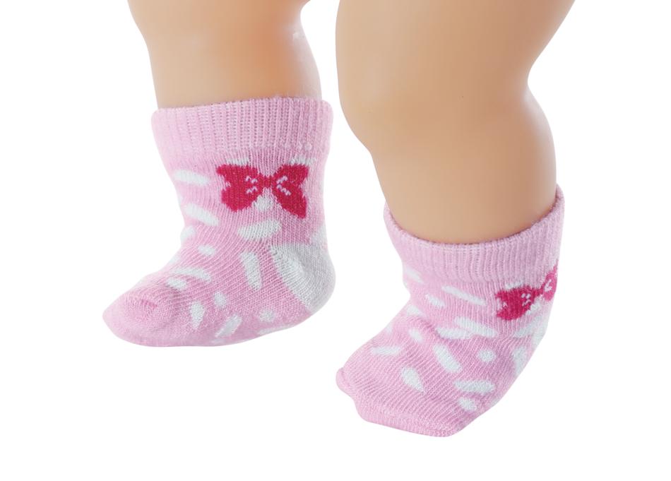 BABY born Ponožky (2 páry) 3 druhy 43 cm