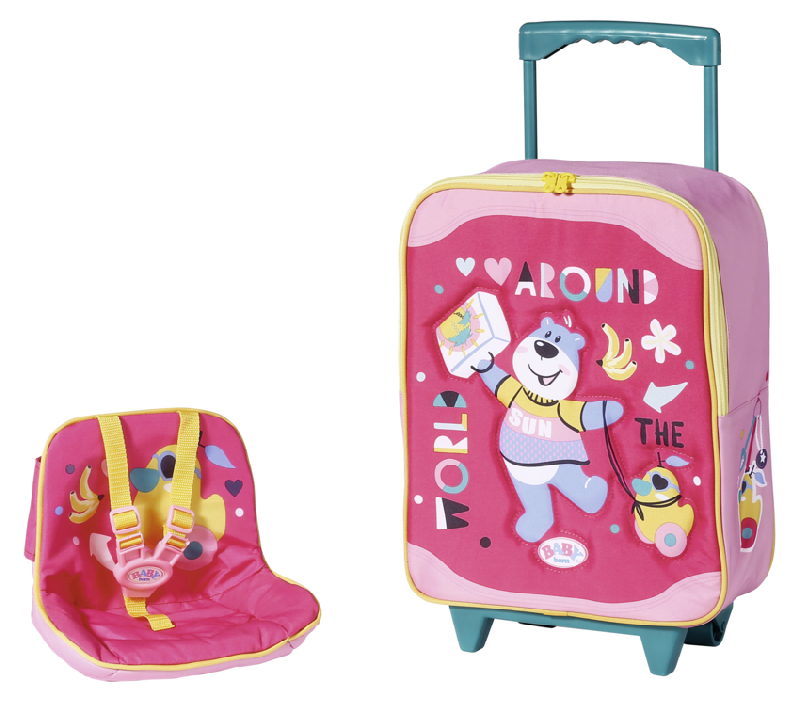 BABY born Kufřík se sedačkou pro panenky