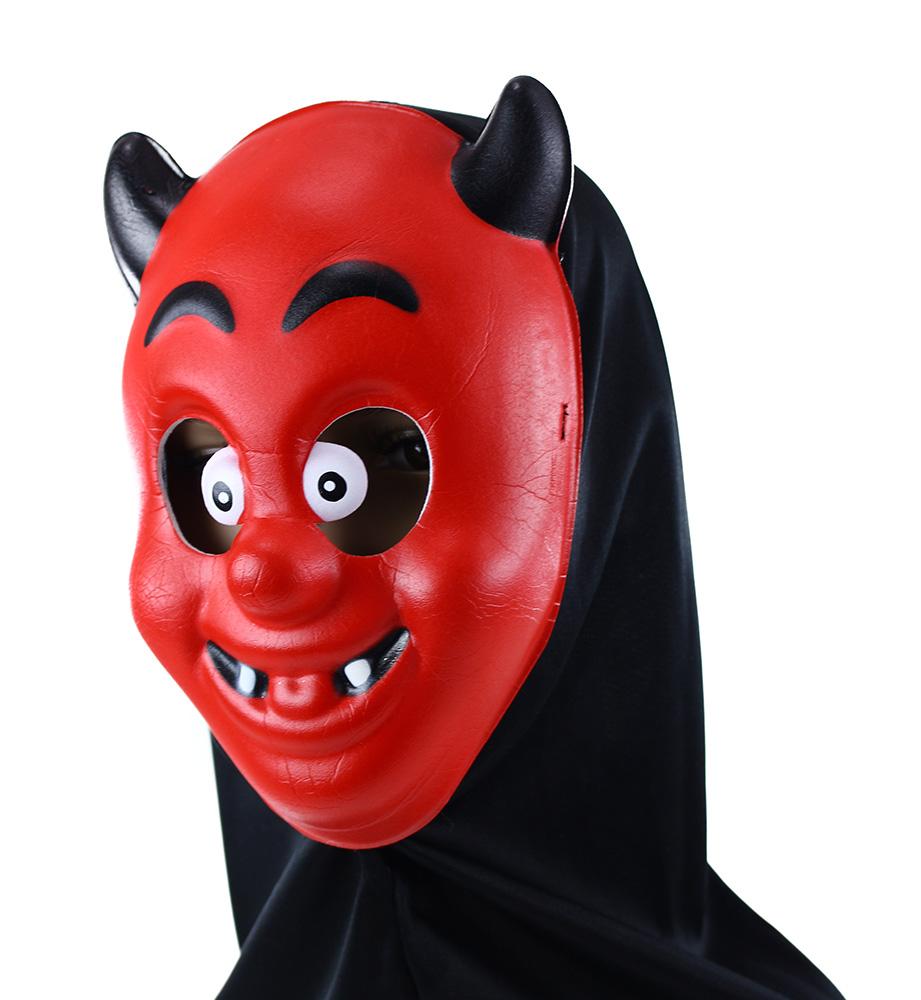 Maska čert s šátkem
