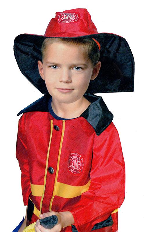 Dětský kostým hasič/požárník