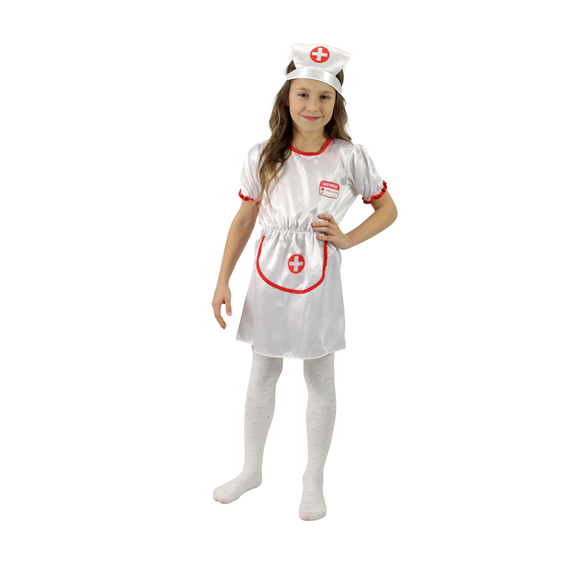 Dětský kostým sestrička (M)