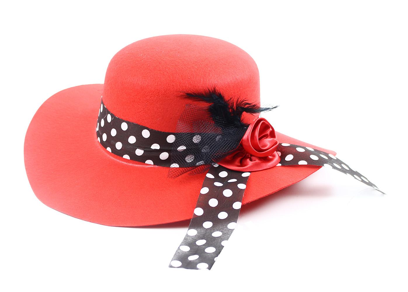 klobouk dáma pro dospělé
