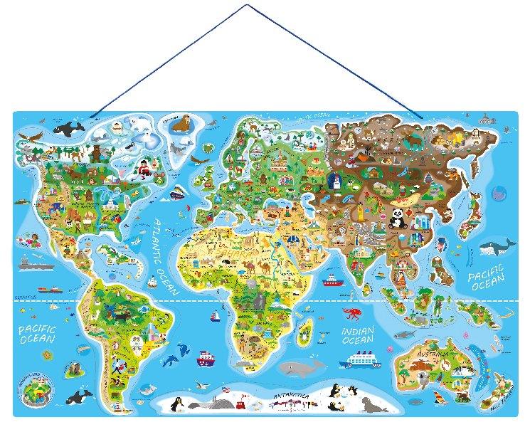 Svět v obrázcích 2 v 1 - Hraj si a uč se