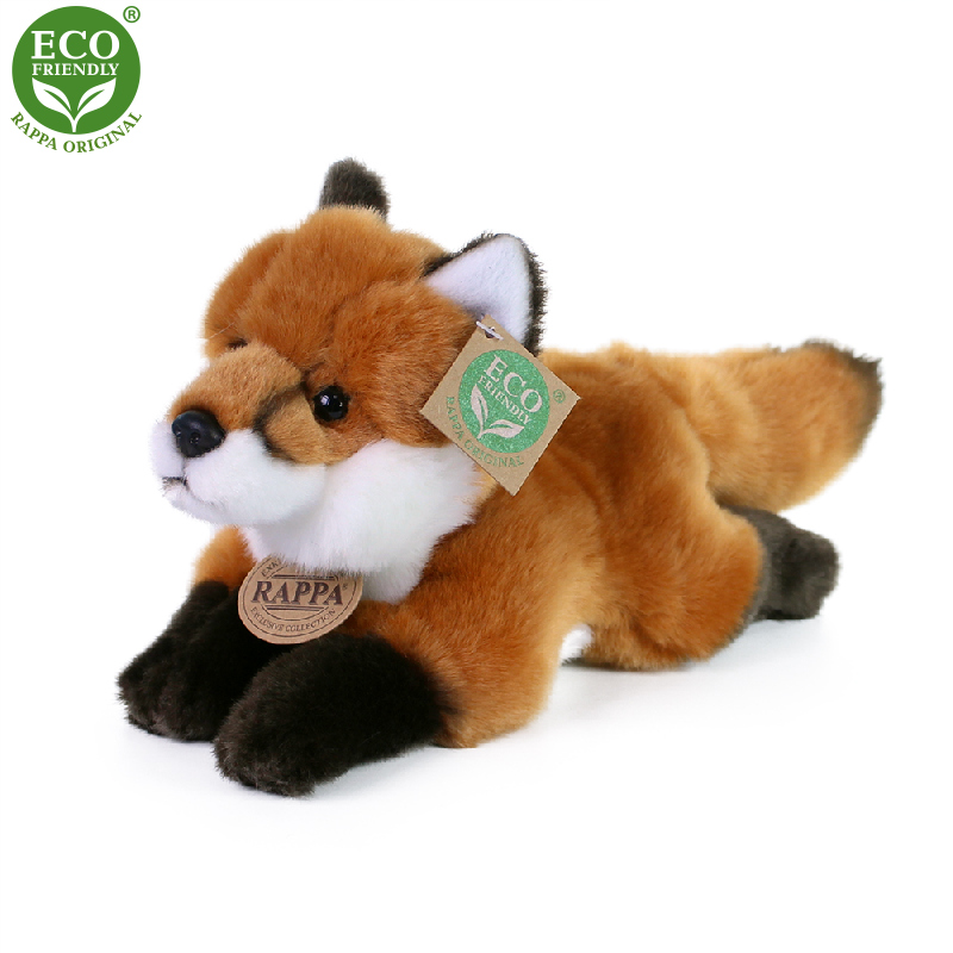 Plyšová liška ležící 23 cm ECO-FRIENDLY