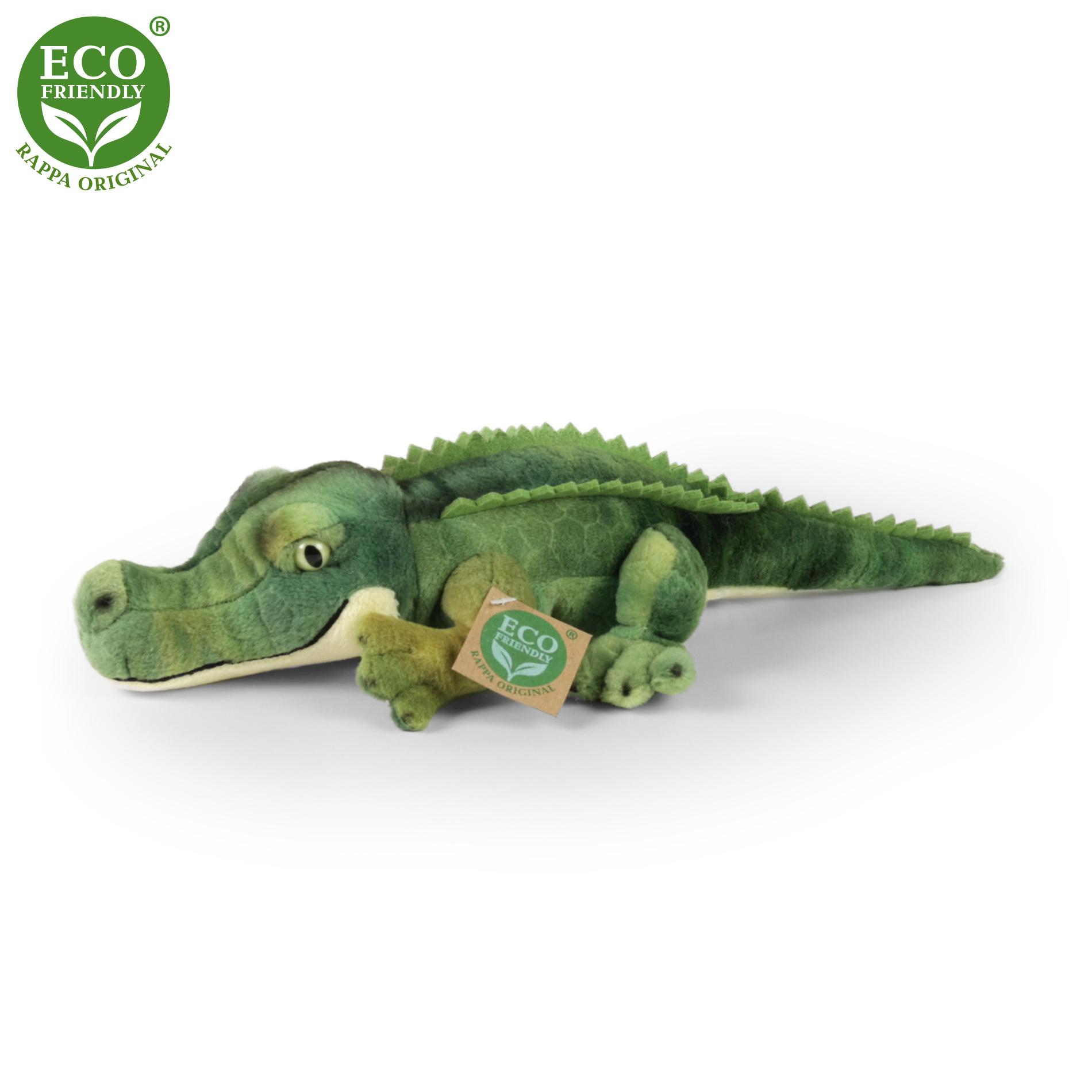 plyšový krokodýl, 34 cm