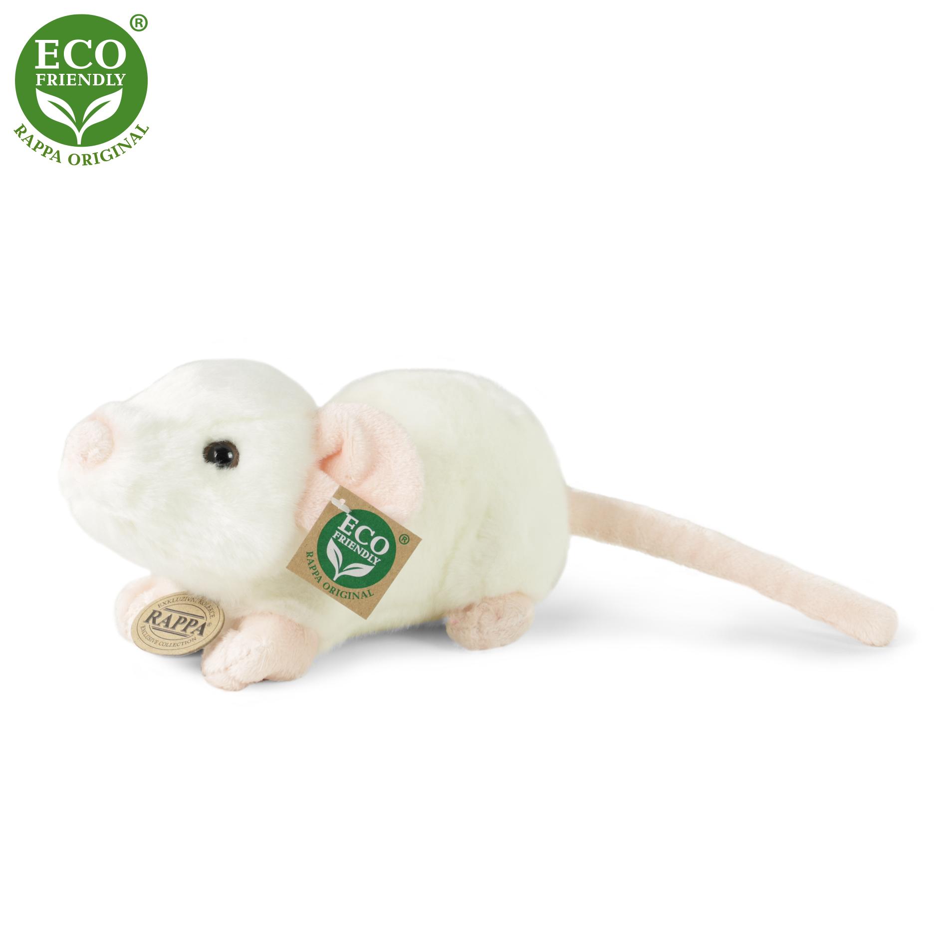 plyšová myš, 21 cm